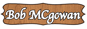 Bob McGowan Menu Logo